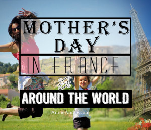 Mother's day is one of 6 possible holidays in France during the Month of May.