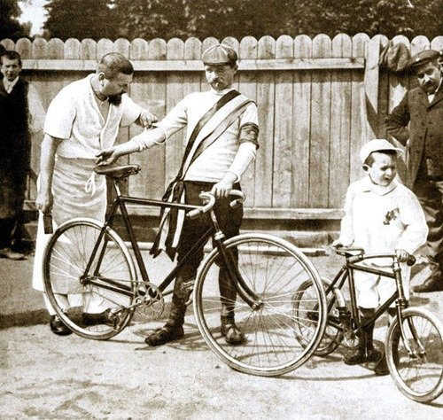 MAURICE-GARIN- The first winner of the tour de France and the first cheater