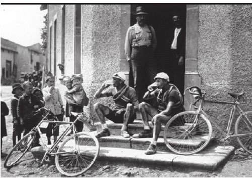 riders used to drink alcohol during the tour de France. it was considered a stimulant