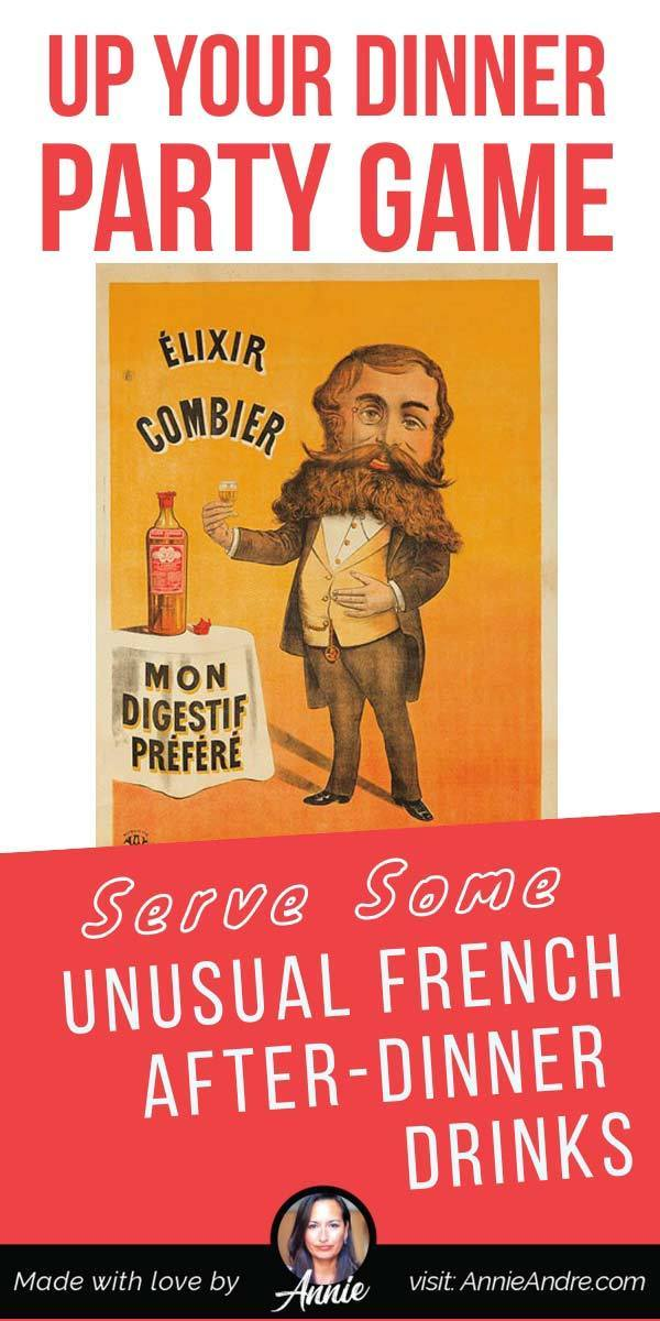 Up your dinner party game with unusual French after dinner drinks