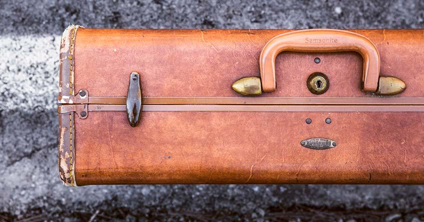 suit case road trip