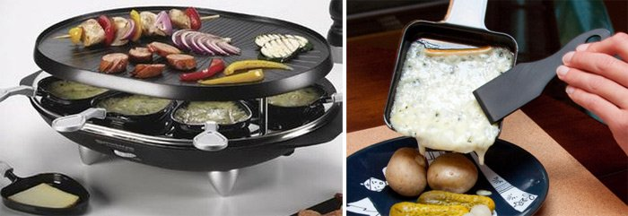 raclette table top girill is a great gift to give your Francophile friend