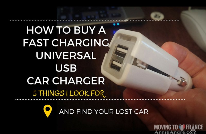 How to buy a great, fast charging universal USB car charger