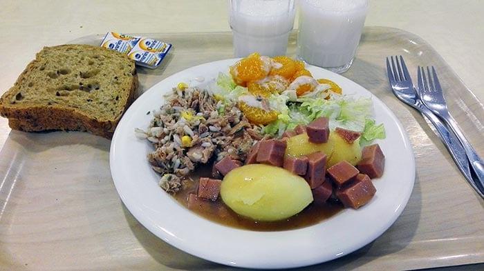 FINLAND: Finnish school lunch