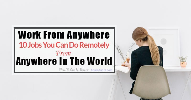how to work anywhere in the world