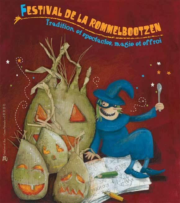 poster for the festival of la-nuit-de-betterave