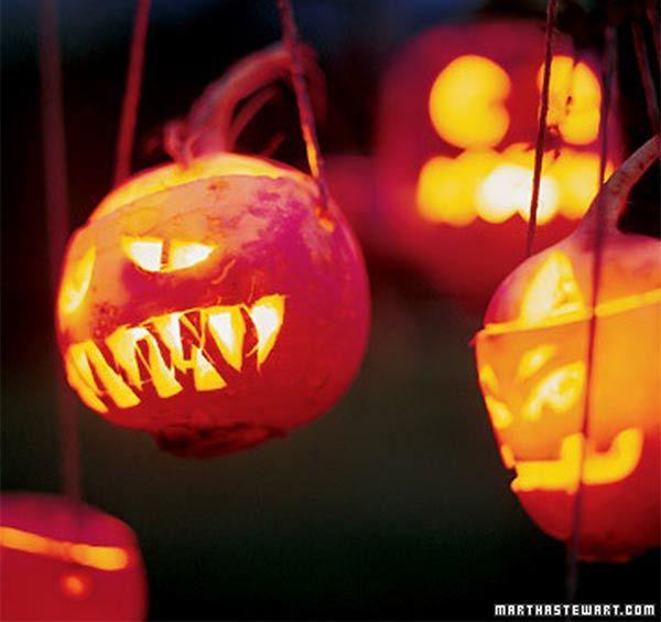 turnip- jack o'lanterns by Martha Stewart