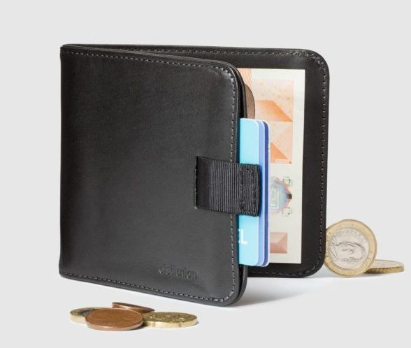 European style wallet coin holder