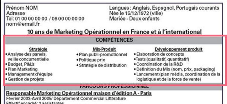 want to find a job in france  how to create the perfect