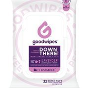 Goodwipes Down There Wipes, Lavender, 32 Little Wipes