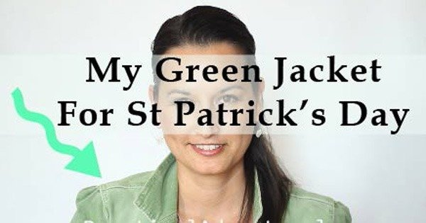 make sure you wear green on st patricks day
