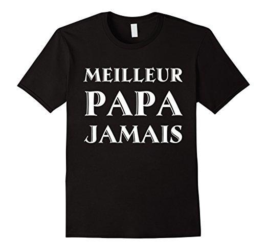 best dad french tshirt meilleur papa