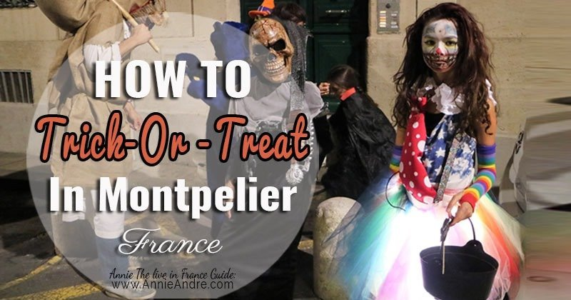 How to organize a trick-or-treating party in Montpellier France