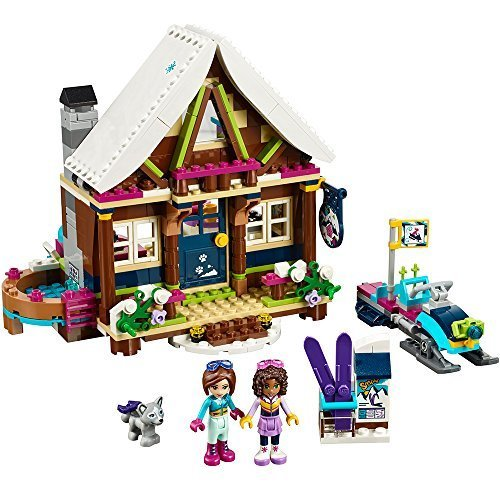 LEGO gift Friends ski Snow Resort Chalet: A French inspired gift for kids