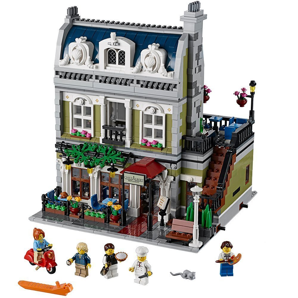 lego gift parisian restaurant: a French and travel inspired gift idea for kids