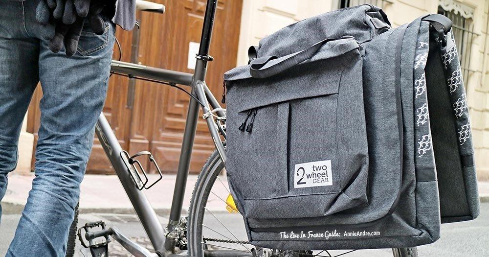 best garment bike pannier bag for commuters