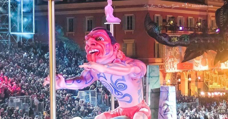 Nice France carnival float