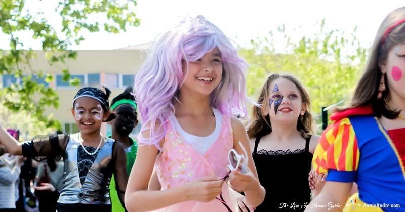 carnival at daughters school in France. She's half mermaid, half princess