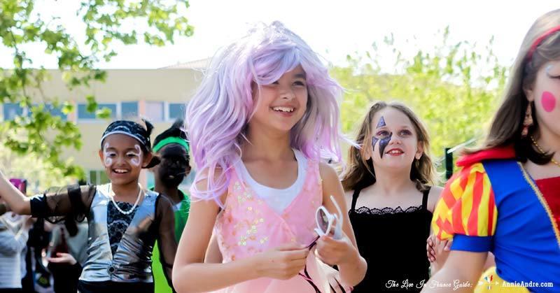 carnival at daughters school in France. She's half mermaid, half princess