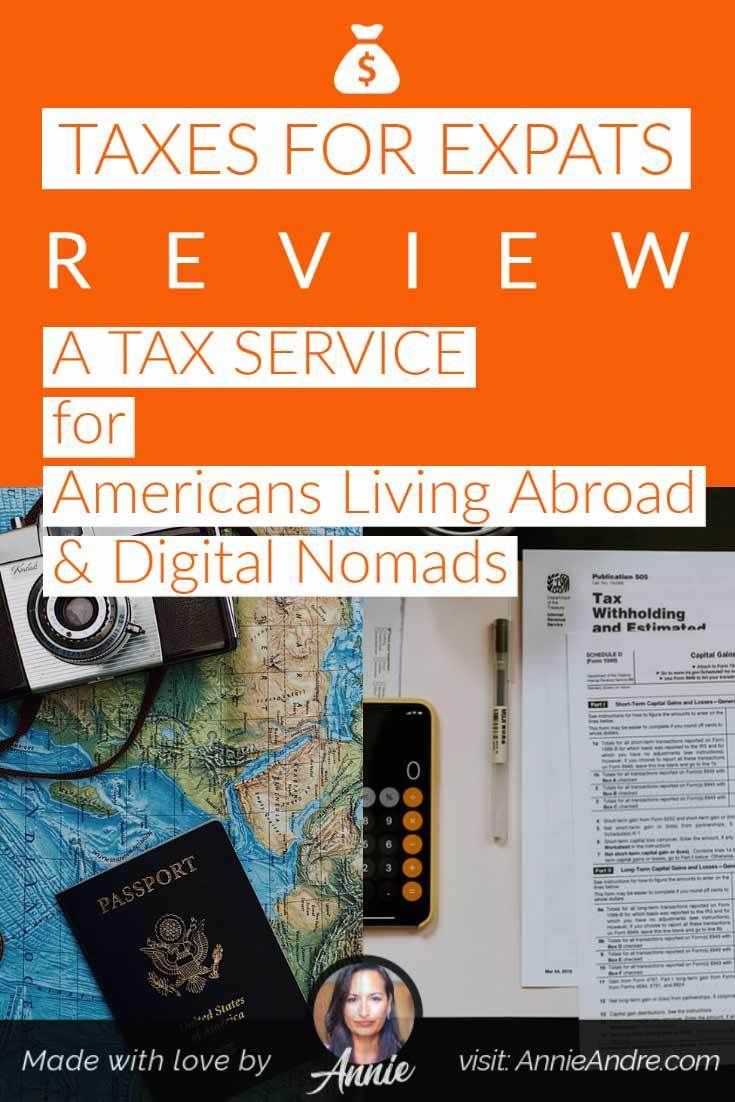 Pin for Taxes for expats review