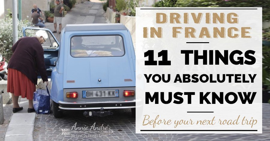 11 things you must know about driving in France