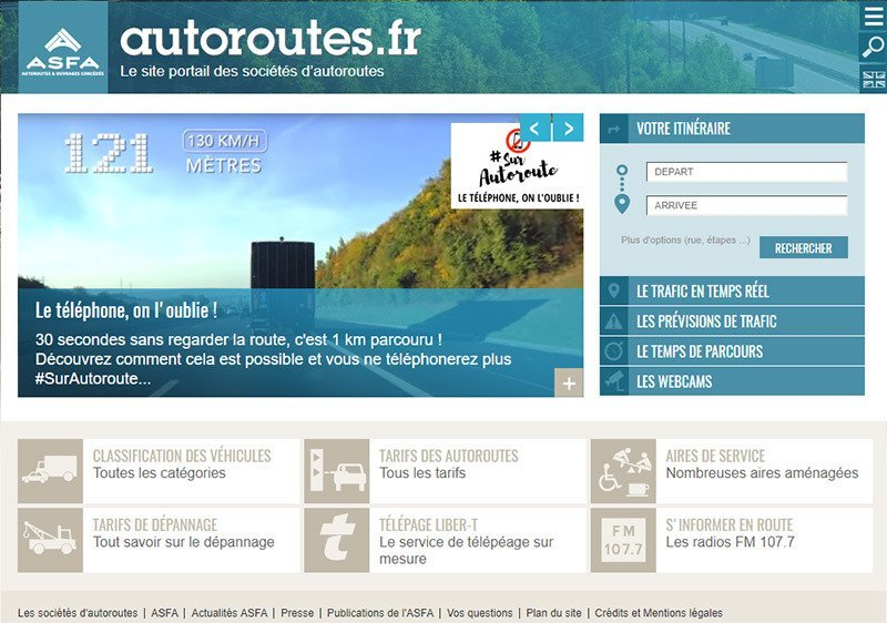 autoroute.fr-site to help you avoid or calculate toll fees on the autoroute in France