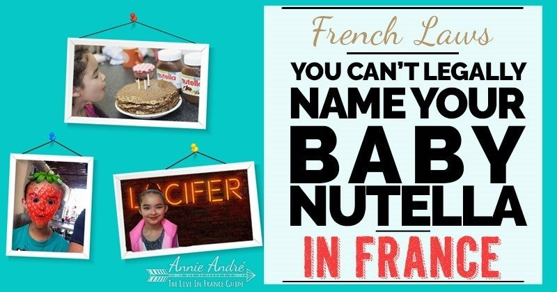 Funny French law: It's illegal to name your child Nutella in France