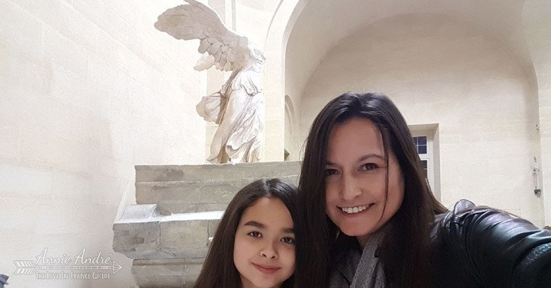 What my friends think I do: Standing in front of the Winged Victory of Samothrace at the Louvre