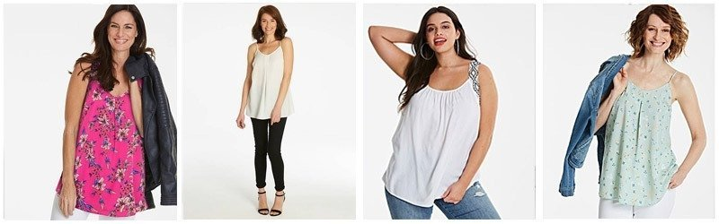 It's easy to dress up or down a vest top / tank top
