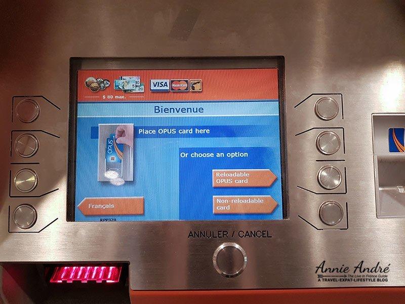 747 express airport bus ticket vending machines screen
