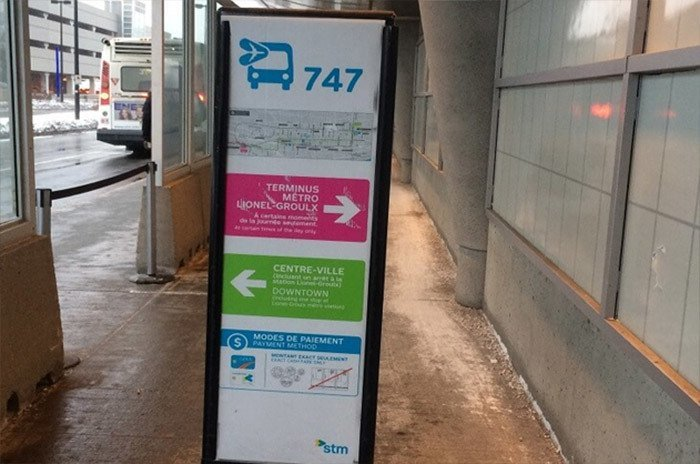 Taking The 747 Express Bus How To Get To Downtown