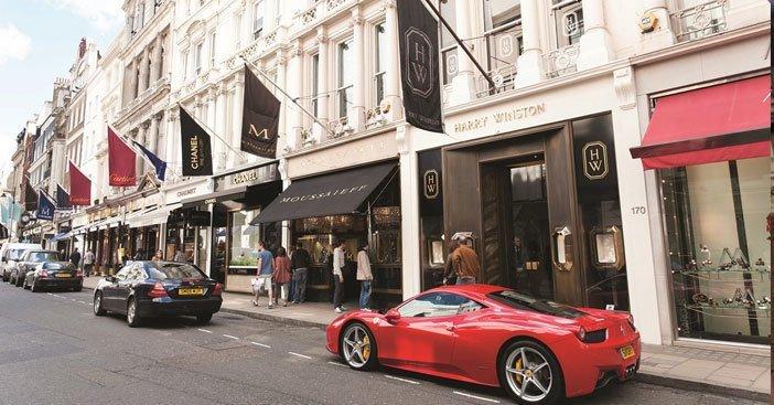 New-Bond Street-shopping destinations