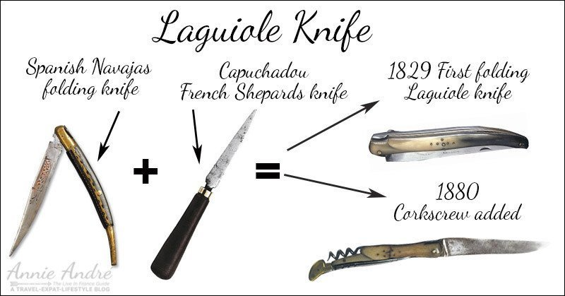 first Laguiole knife: inspired by the capuchadou +Navajas-knives