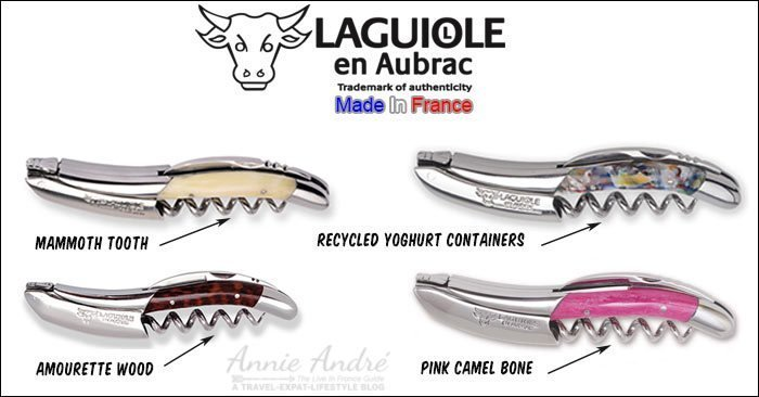 Laguiole en Aubrac corkscrew
