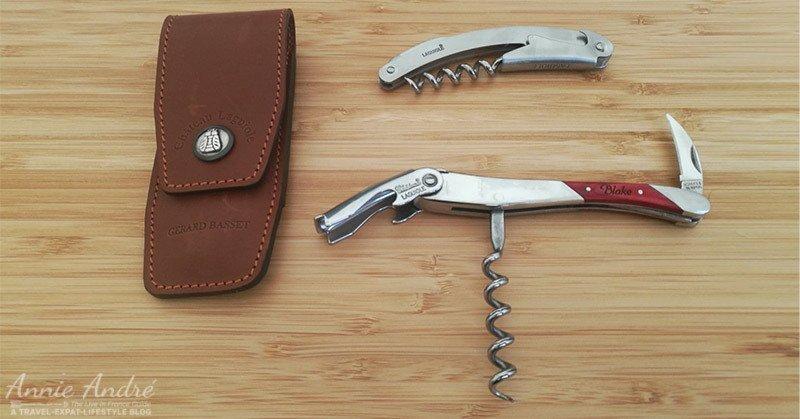 Blake Laguiole corkscrew gift