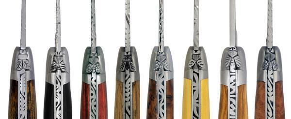 laguiole bees are engraved on all Laguiole corkscrews and pocket-knives