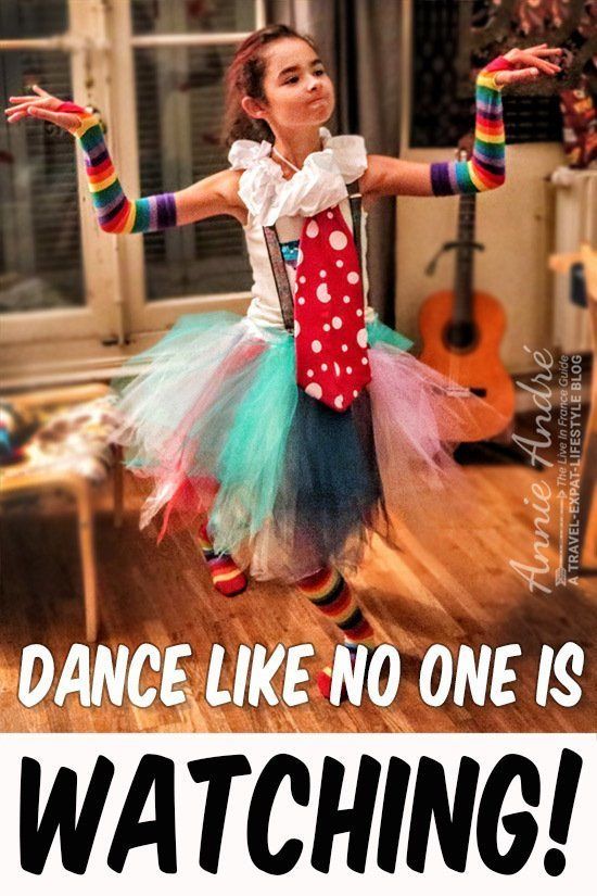 Dance like no one is watching!