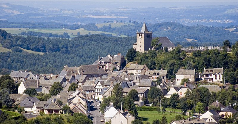 Laguiole village in the Auvergne region: The birthplace of the Laguiole pocket knife
