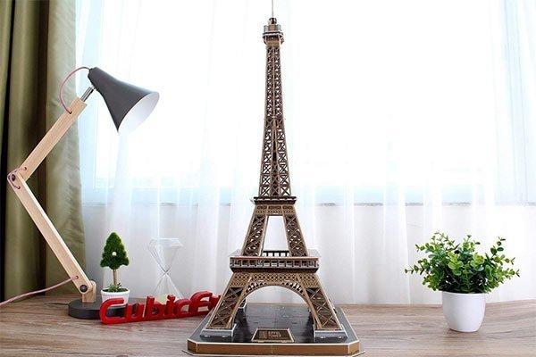 CubicFun 3D Eiffel Tower puzzle LED