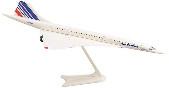 model of Air France concorde plane