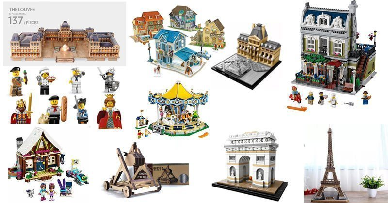 French inspired gifts for Francophile children and big kids too