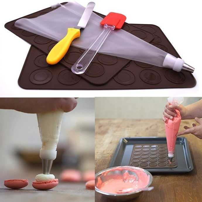 Franch macaron cooking set for kids and adults
