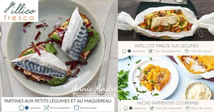 French Meal kits from Illico Fresco