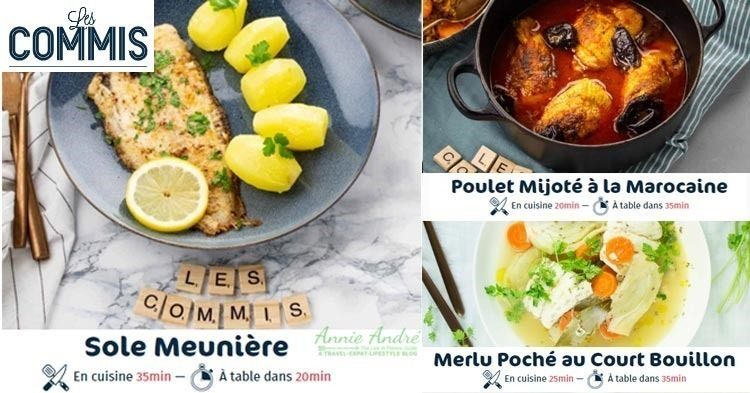 French Meal kits from Les-Commis