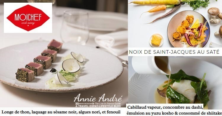 Gourmet chef French Meal kits from Moi Chef