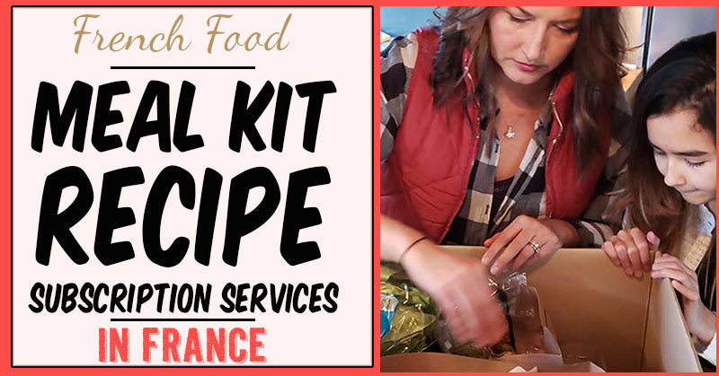 French meal kit subscription services in France