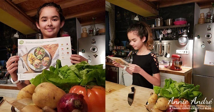 Meal kit recipe cards are always included in the boxes. They show step by step directions and plenty of photos