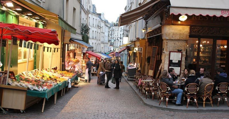 RUE-MOUFFETARD: One of Paris' oldest streets and quantest