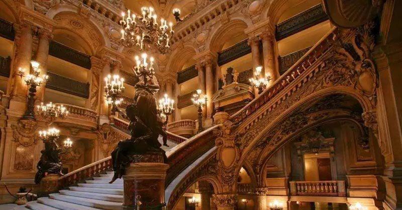 Paris opera house palais Garnier