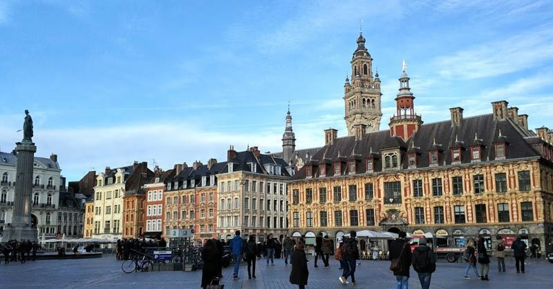 Top 10 Cities in France: Lille France's 10 largest most populated city in France